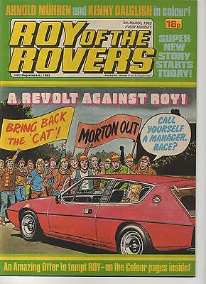 ROY OF THE ROVERS 5th MARCH 1983 EXCELLENT CONDITION