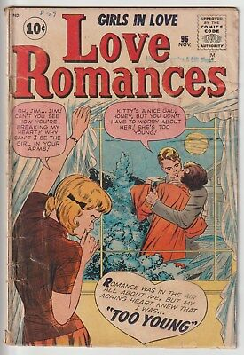 LOVE ROMANCES #96,KIRBY,10c MARVEL SILVER AGE!