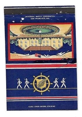 Vintage Matchbook Cover WWII US ARMY Camp Stoneman Pittsburg CA #169