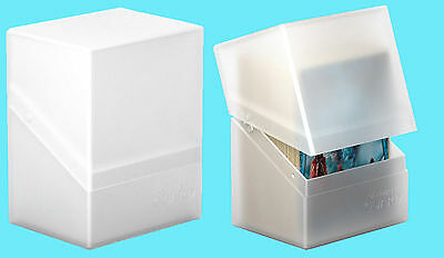 ULTIMATE GUARD BOULDER FROSTED Standard Size DECK CASE 80+ NEW Card Box Pokemon