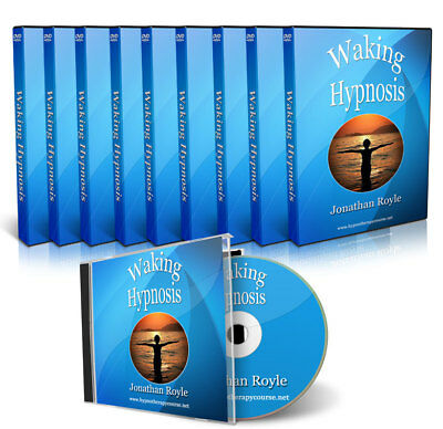 Waking Hypnosis & NLP Placebo Hypnotherapy Techniques 5 DVD Video Course Set