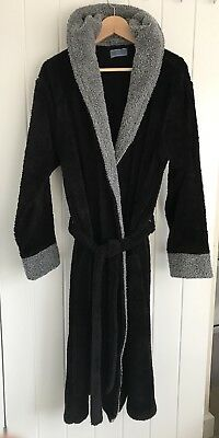 John Lewis Mens Dressing Gown 100 Cotton Size Xl Rrp 45