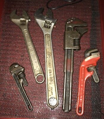 Vintage Lot of 5 Wrenches Looking Good 👀