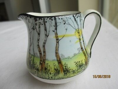 "Royal Doulton Hand Painted ""Pollards Willow"" Series Ware Miniature Jug (H2588)"