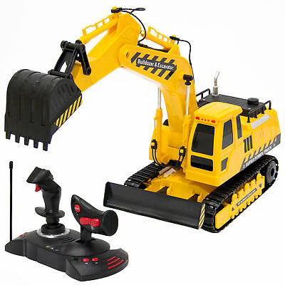 Best Choice Products 27MHz 1:18 RC Excavator Bulldozer Kids Remote Control Toy