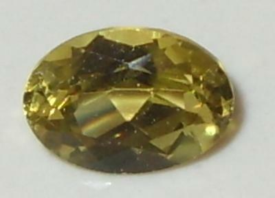 1.07ct Valuable Natural Tanzania Greenish Gold Chrysoberyl Oval 7x5mm