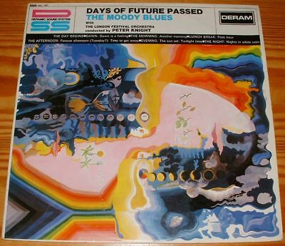 Lp:Moody Blues:Days of Future passed,Orig.1.UK Pressung!