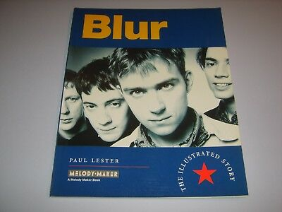 BLUR - Blur UK 1995 softback book