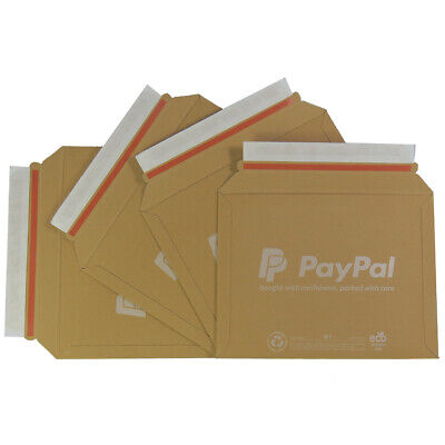 PAYPAL A1 SIZE LIL CARDBOARD RIGID POSTAL ENVELOPES 235x180mm  - ALL QTY'S