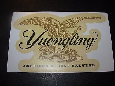 YUENGLING BREWERY die cut EAGLE LOGO STICKER decal craft beer brewing