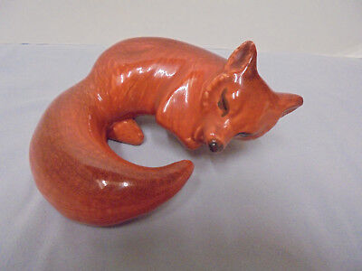 "Braytons, Fox, H-55, Calif. Pottery, 5.5x5.5"" Base, 3.25"" Tall Vintage"