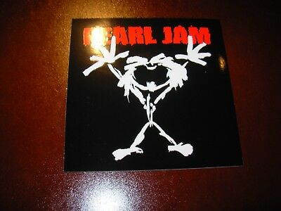 PEARL JAM Alive Guy classic Logo Sticker New not cd lp but COOL