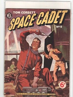 SPACE CADET  # 9    1950s   BRITISH  EDITION,