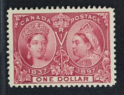 CKStamps: Canada Stamps Scott#61 Jubilee Mint H OG Lightly Gum Crease Tiny Thin