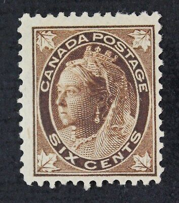 CKStamps: Canada Stamps Collection Scott#71 Victoria Mint H OG CV$140