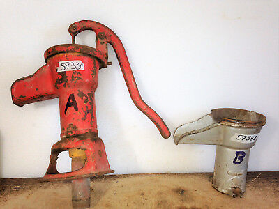 W L Davey Pump Corp., Hand Well Pump Pitcher Pump and Handle Spout #882.33