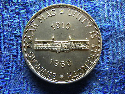 South Africa 5 Shillings 1960, Km55
