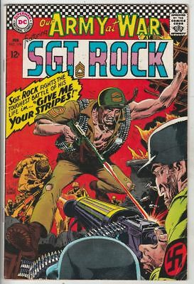 Our Army at War # 176 Strict FN+ Artist Joe Kubert & tons more