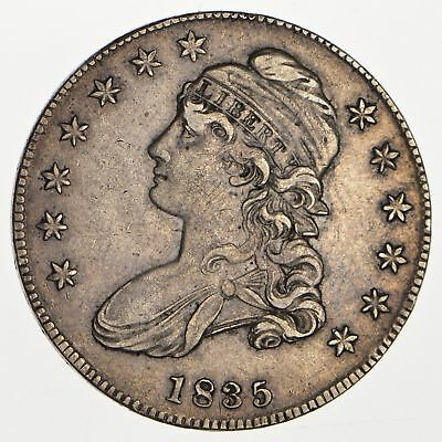 1835 Capped Bust Half Dollar - Circulated *0119