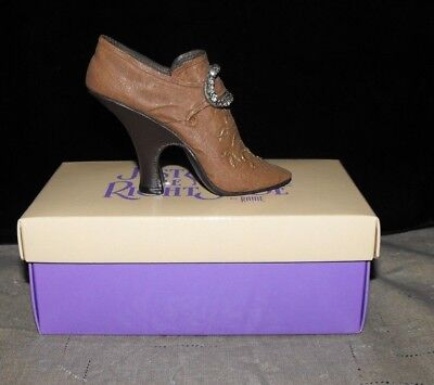 """JUST THE RIGHT SHOE """"TEETERING COURT"""" #25014 w/BOX by RAINE"""
