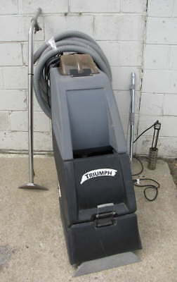 PACIFIC TRIUMPH 1900 CARPET EXTRACTOR SELF CONTAINED CARPET CLEANER w/ATTCHMNTS