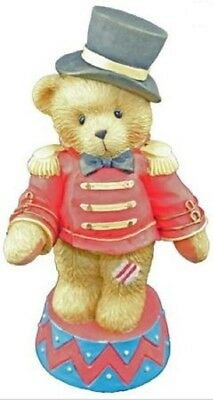 "Cherished Teddies ""bruno ~ Circus Ringmaster"" #103713   New *  Free Shipping"