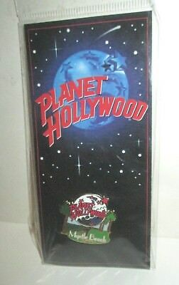 Planet Hollywood Restaurant Club Myrtle Beach Sc Collector Pin Carded 1997