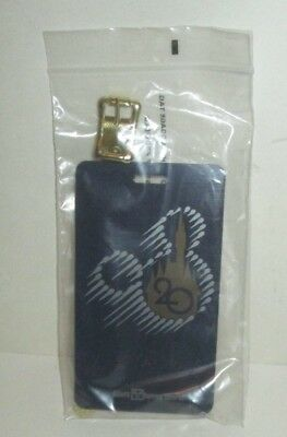 Walt Disney World Theme Park 20Th Anniversary Promo Plastic Luggage Tag