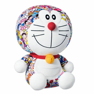Takashi Murakami Doraemon Uniqlo Plush Toy Authentic and NEW With Tags!