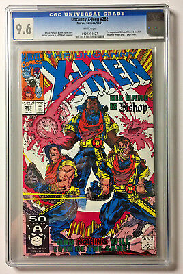 The Uncanny X-Men #282 - CGC 9.6 1st Appearance Bishop