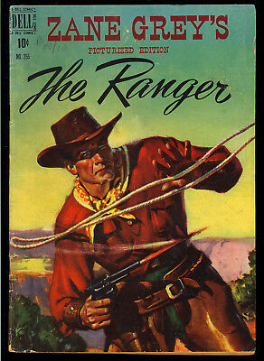 Four Color #255 (Zane Grey's The Ranger) Nice Golden Age Dell Comic 1949 VG-