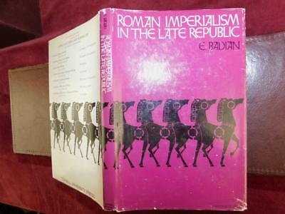 ROMAN IMPERIALISM in LATE REPUBLIC by E.BADIAN/ROME/RARE 1968 1st $100+