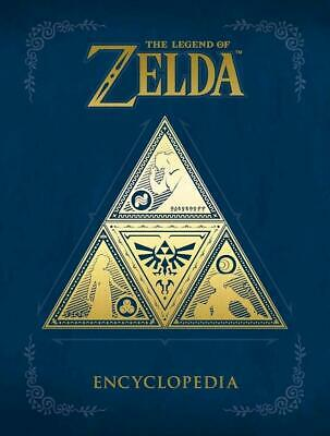The Legend Of Zelda Encyclopedia by Nintendo Hardcover Book Free Shipping!