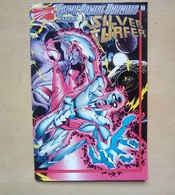 The Silver Surfer Cosmic Powers Unlimited #2 Marvel Comics Sept 1995 Fine Cond