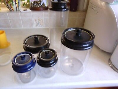Tupperware  Storage containers x 5