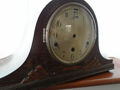 Antique Clock Case Empty Inside For Restoration Spare  Repair