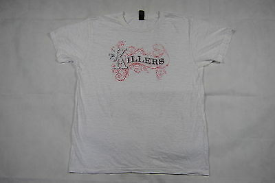 The Killers Decorative Logo Vintage Soft T Shirt Xl New Official Band Hot Fuss