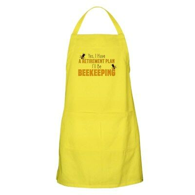 CafePress - Beekeeper Retirement - Full Length Cooking Apron