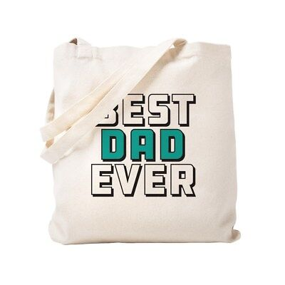 5fdc7a677899 CafePress Best Dad Ever Natural Canvas Tote Bag, Cloth Shopping Bag  (260819888)