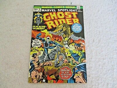 Marvel Spotlight [1971] #9  Apr 1973 Fn/vf   Ghost Rider