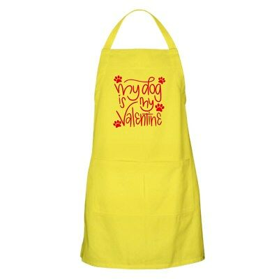 CafePress - My Dog Is My Valentine - Full Length Cooking Apron