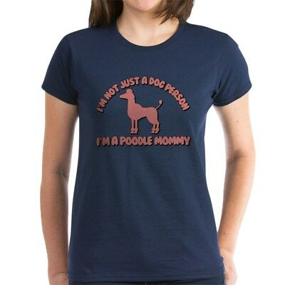 CafePress Poodle Mommy Women's Classic T Shirt Womens T-Shirt (200514187)