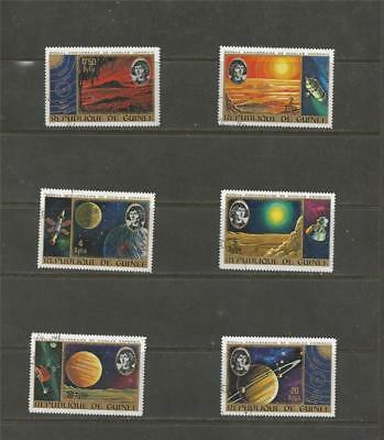 GUINEA - 1973 The 500th Anniversary of the Birth of Copernicus  - NICE USED SET