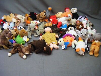 Job Lot Of Ty Teddies## Ga Bux 11  Sd