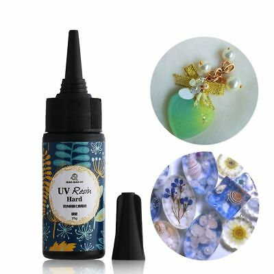 10/25/60g Activated Art Crafts UV Resin Solar Cure Crystal Epoxy Jewelry DIY