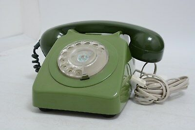 Vintage Two-tone Green BT Telephone from 1960s    (JBW 129)