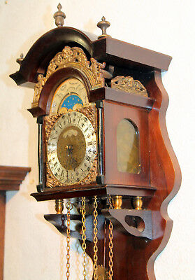 Old Wall Clock Chime with Moonphase*WUBA*WARMINK*