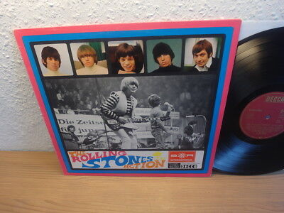 ROLLING STONES IN ACTION LP 60s PRESSING SONDERAUFLAGE