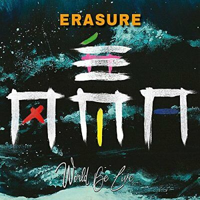 ERASURE  World Be Live  2 CD  NEU & OVP 13.07.2018
