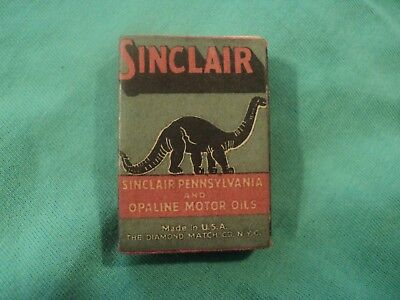 Vintage 1940's Box of Wooden Matches Sinclair St. Paris,OH.